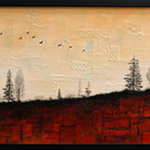 Migration - 12 x 36 inches